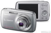 PANASONIC digitalni fotoaparat DMC-S1EP-S srebrna