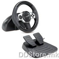 Genius Trio Racer F1, PC/PS3/Wii, Wheel + Pedals