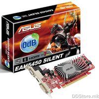 VGA AS EAH5450 SILENT/DI/1GD3(LP)