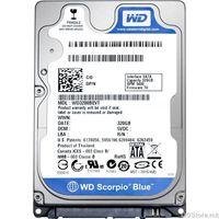 "HDD 2.5"" 320GB WesternDigital 5400rpm, 8MB Cache, SATA 3.0Gb/s, Scorpio Blue, WD3200BPVT"