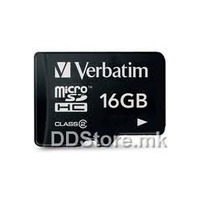 Secure Digital Micro Verbatim 16GB SDHC High Speed Class10