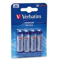 Batteries Verbatim AA 4pack Alkaline