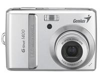 "Genius G-SHOT 1400, 14 Megapixels, 2.7"" LCD display, 3x Optical zoom, 2x AA batteries"