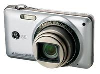 "General Electric E1486TW Grey with TOUCHSCREEN, 14 Mpixels, 8x optical zoom, metal body, 28mm wide angle lens, HD Video, HDMI, 3.0"" display, Optical I.S., face and smile detection, Lithium-ion, SDHC"