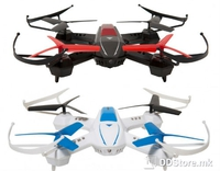 DRONE GOCLEVER SKY FIGHTERS 2x Drones w/Shooting/360° 6-Axis Gyro/4CH/2x 2.4GHz Remote Controls