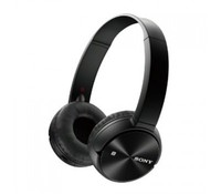 SONY MDRZX330BT.CE7, Overhead headphones, Black, Bluetooth/NFC, 30mm driver unit, Up to 30 hours of battery life, USB rechargable, cable included