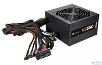 Corsair Builder Series VS550, 550 Watt Power Supply, EU Version, CP-9020097-EU