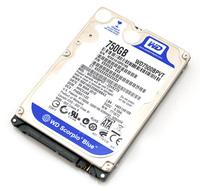 """HDD WD 2.5"""" 750GB 8MB SATA II,  5400 RPM, Scorpio blue"""