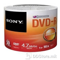 DVD-R 4.7GB 16x Sony 50DMR47SB 50pcs Spindle