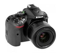 Nikon D5300 D-SLR Black SET (18-55VR), 24 Megapixels