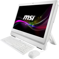 "MSI WINDTOP AP200-208XEU, White, 20"" HD+ multi touch, Intel® G3250 3,2GHz, RAM 4GB DDR3, HDD 500GB, 802.11 b/g/n, ODD, no OS, no kb&m"