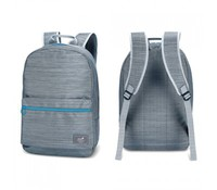 "Genius GB-1503 Backpack for 12"" to 15.6"" NB, Gray with blue line"