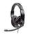 Headphones w/Mic MHS-U-001 USB Glossy Black