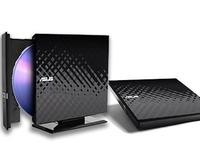 Asus External Slim DVD-RW USB2.0 Black SDRW-08D2S-U/DBLK/G/AS  ASUS 8xDVD+-R/6xDL/5xDVD-RAM Black