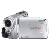 "Genius G SHOT DV800, HD 720P Camcorder, 8 Megapixels photo function, 2.4"" TFT Display, 16X Digital zoom, Flash/LED, AAA batteries"