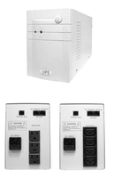 Weli Science MT-1000VA 600W Line interactive UPS+ AVR, with USB port, Microprocessor control (IEC outlet x4), Battery 12V7AH x2