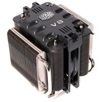 Cooler Master V8, RR-UV8-XBU1-GP Universal high-end gaming cooler, 8 heatpipes, 1x12025 PWM/VR fan