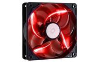 CM LED series case fan 120mm Red LED Fan (Rifle Bearing), 2000rpm, R4-L2R-20AG-R2