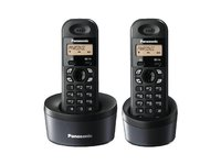 TEL PANASONIC KX-TG 1312 FXH DECT telefon bezicen Titanium Black, 14seg LCD, 50 telefonski imenik, CID, LCD Backlit
