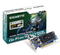 Gigabyte PCX GeForce GT210 1GB DDR3 HDMI/DVI/VGA