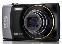 """14MP - CCD sensor - 7x optical zoom - wide angle, 3"""" LCD - HD Video 720p - Card support SD (4GB)/ SDHC (32GB) - 23MB built in memory - Fish-eye Effect - Face detect - Panorama - Li-Ion rechargeable battery - Dual Charging USB/220v, 130g, Grey"""