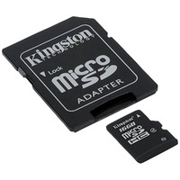 Secure Digital Micro Kingston 16GB SDHC cl4 w/Adapter