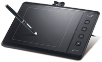 "Genius Graphic tablet Easy pen M506, 5"" x 6"", Battery free pen, 4000lpi"