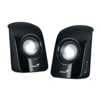 Genius SP-U115 speakers, Black, 1.5W, USB power