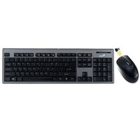 Genius SS 801, Wireless combo Keyboard + mouse, USB, Black