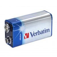 Battery Verbatim 9V 1pack Alkaline