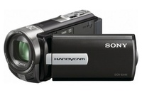"Sony DCR-SX45EB Camcorder, Video Resolution: 720x576 / 50i, HQ:9Mbps / SP:6Mbps / LP:3Mbps, Picture Resolution: VGA 640 x 480, 60x Optical / 70 x  extended Optical Zoom, CCD Sensor Type: 1/8 (2.25mm), Memory Stick PRO Duo/SD Memory Card slot, 3.0"" Cl"