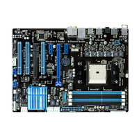 F1A75, CPU Socket: socket FM1, Chipset Vendor: AMD, Chipset(NB): A75, Chipset(SB): N/A, System Bus: Up to 5.0GT/s; UMI Link, Memory Socket: 4DDR3(Dual Channel) , Memory BUS: DDR3 1866/1600/1333/1066, Max Memory Size: 64G, ECC: N, Onboard VGA: N, VGA