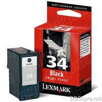 CARTRIGE Lexmark N34XL BLK - X5070/5