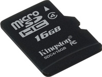 Secure Digital Micro Kingston 16GB SDHC CL4