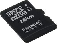 Secure Digital Micro Kingston 16GB SDHC CL4