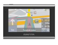 "GPS Navigator Manta Easy Rider 5"" European Map"