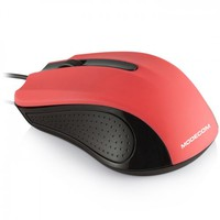 Modecom Optical Mouse MC-M9, USB, Color: Black-Red, Resolution: 1000 DPI, Dimension: 103 x 66 x 37 mm, Cable length: 180 cm
