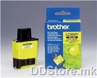 Brother Cartrige LC900YYJ1 Yellow (400 str.)for FAX-1835C/1840C/1940CN/2440C, MFC-3240C/3340CN/5440CN/5840CN, DCP-110C/115C/120C/310CN/315CN/340CW, MFC-210C/215C/410CN/425CN/620CN/640CW/820CW
