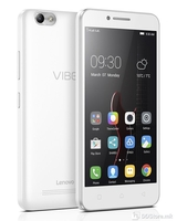 "LENOVO VIBE C  A2020 (white), 5.0"" FWVGA (854x480) TN display, Dual Sim, LTE, Qualcomm® Snapdragon™  210 quad-core 1.1GHz , 1GB RAM, 8GB internal storage,5MP auto-focus rear camera w/ flash,2MP wide-angle selfie camera, 2300mAh battery, An"