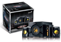 Genius SW G2.1  3000 speakers + subwoofer, 70W, for game, 4 pieces, volume control