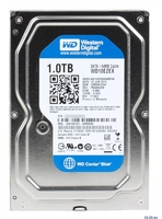 HDD 1TB WesternDigital IntelliPower rpm, 64MB Cache SATA-3, 6.0Gb/s Caviar Blue, WD10EZEX
