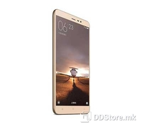 Xiaomi Redmi 3s 32GB ROM/3GB RAM 4G LTE, Gold color, Dual SIM, 5.0 inches (~71.1% screen-to-body ratio), Resolution: 720 x 1280 pixels, Multitouch, Chipset: Qualcomm MSM8937 Snapdragon 430, CPU:  Octa-core 1.4 GHz Cortex-A53, GPU: Adreno 505, OS:  An