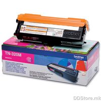 Brother Toner TN320M (2500 str.) for  HL-4150CDN/4570CDW / HL-4140CN / DCP-9055CDN / DCP-9270CDN / MFC-9460CDN, MFC-9970CDW
