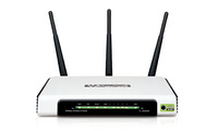 TL-WR941ND ROUTER Wireless, 300MBps, w/3x3dBi Detachable Antenna, 3T3R, N-MAX, WDS