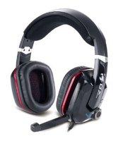 Genius Headset, Virtual 7.1 Channel Gaming, Vibration, USB, HS-G700V.