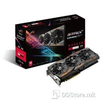 ASUS STRIX-RX480-O8G-GAMING, Graphics Engine AMD Radeon RX 480, PCI Express 3.0 OpenGL OpenGL®4.5,  Video Memory GDDR5 8GB, Engine Clock 1330 MHz (OC Mode) 1310 MHz (Gaming Mode), Memory Clock 8000 MHz, Memory Interface 256-bit, Resolution Digital M