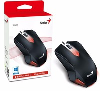 Genius Mouse GX Gaming X-G200, Optical,USB , 1000 dpi ,optical sensor,Black