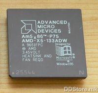 CPU AMD 5X86 P75 133MHz TRAY