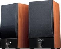 GENIUS SP-HF800B Wood speakers 20 W RMS, ultra rigid MDF board cabinet, master volume control