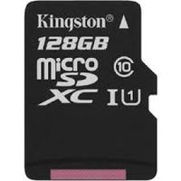 Secure Digital Micro Kingston 128GB SDXC cl10 UHS-I 45MB Read